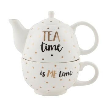 Ceainic cu cană din ceramică Sass & Belle Tea Time imagine