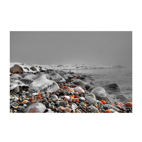 Obraz Červené kameny, 60x80 cm