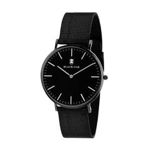 Černé pánské hodinky Black Oak Steel