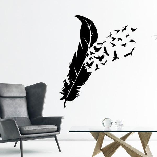 Samolepka Ambiance Feather Birds