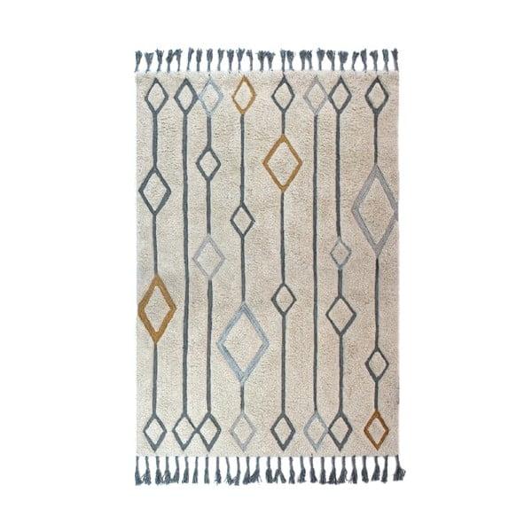 Solitaire Beau bézs kézzel szőtt szőnyeg, 200x290cm - Flair Rugs