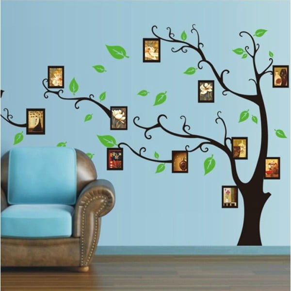 Samolepka Ambiance Tree Pictires Holder