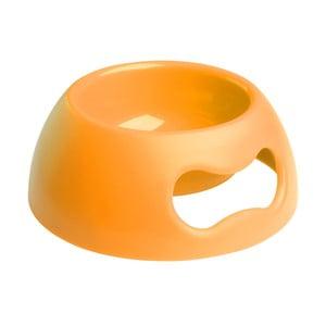 Miska Pappy L, oranžová