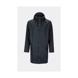 Tmavě modrá unisex bunda s vysokou voděodolností Rains Long Jacket, velikost L/XL