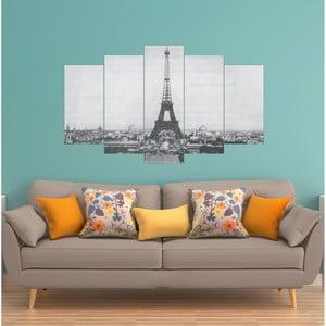 Vícedílný obraz La Maison Des Couleurs EiffelTower
