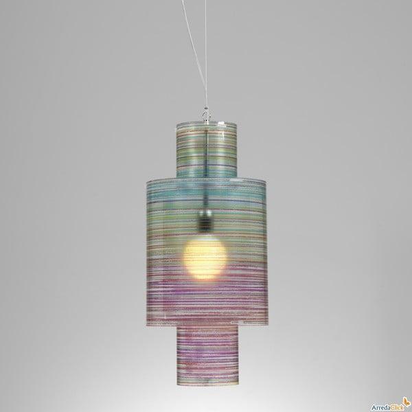 Závěsné svítidlo Nippon Emporium, barevné