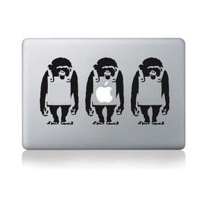 """Samolepka na notebook 13"""" Monkey Line by Banksy"""