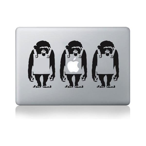 """Samolepka na notebook 15"""" Monkey Line by Banksy"""