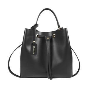 Černá kožená kabelka Maison Bag Lexy
