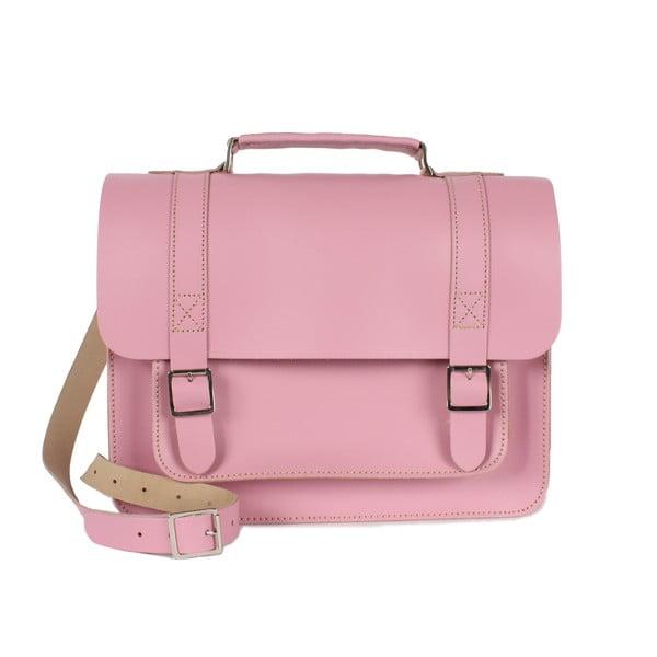 Kabelka Boho Briefcase, růžová