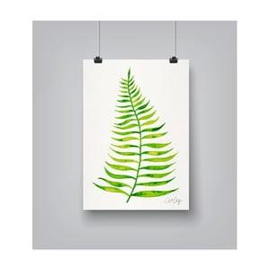 Poster Americanflat Palm Leaf, 30 x 42 cm