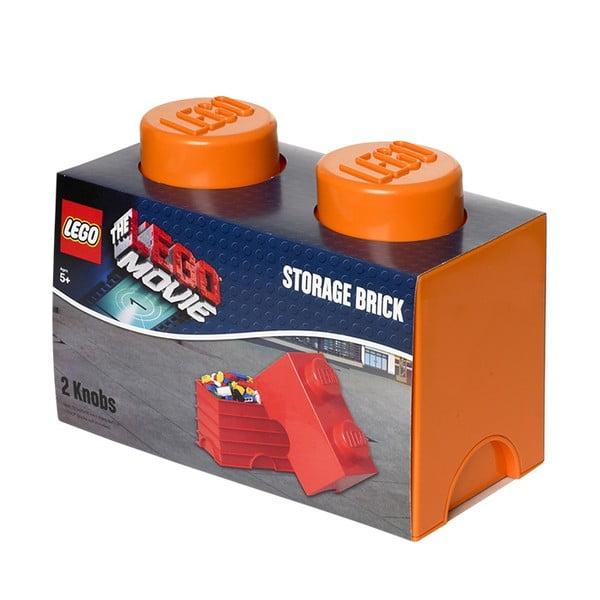 Úložné Lego, oranžové