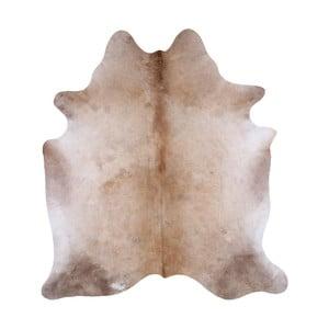 Koberec z pravé hovězí kůže, 211 x 192 cm