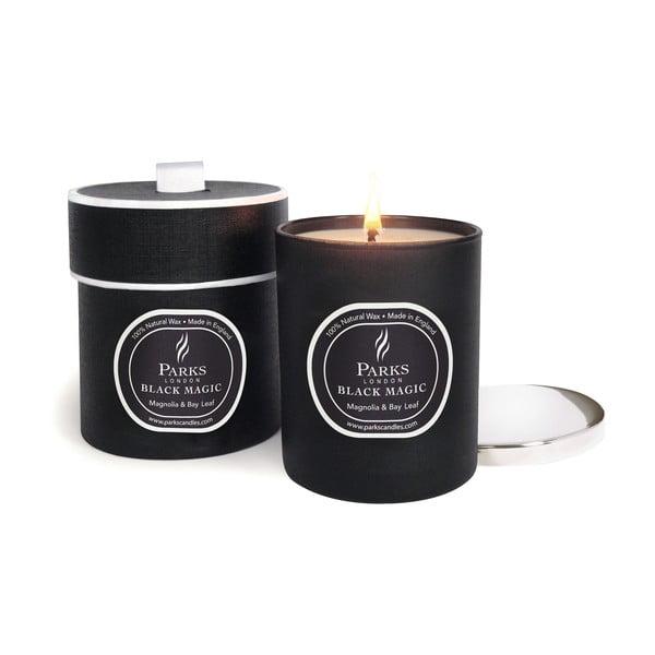 Svíčka s vůní magnolie a bobkového listu Parks Candles London  Magic, 50 hodin hoření
