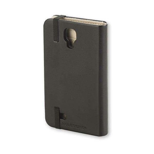 Obal na Samsung S4 Moleskine, černý