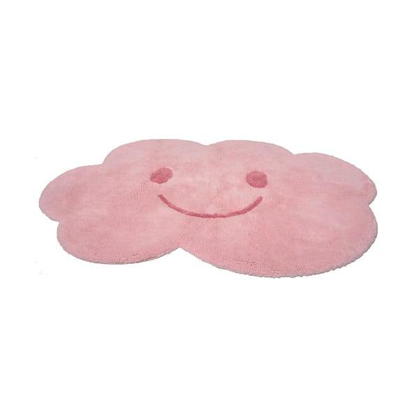 Covor pentru copii Nattiot Nimbus, 75x115cm, roz
