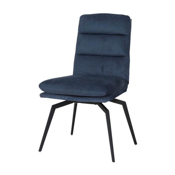 Tmavě modrá jídelní židle Canett Uri
