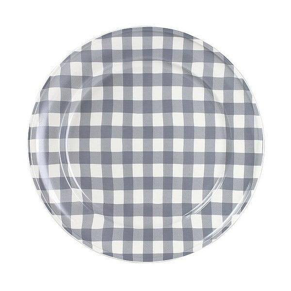Keramický talíř Marikere Grey, 24 cm