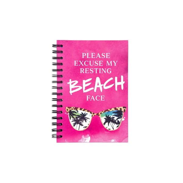 Spirálový zápisník Tri-Coastal Design Beach Face