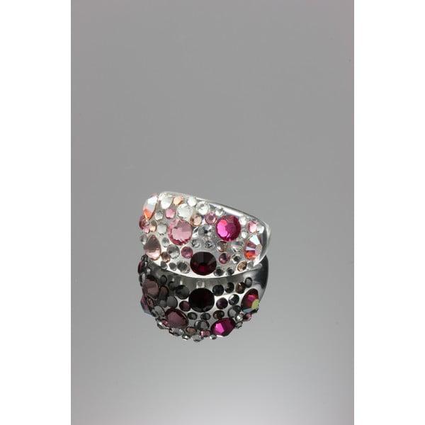 Prsten Ring Swarovski Elements Rosa, velikost M