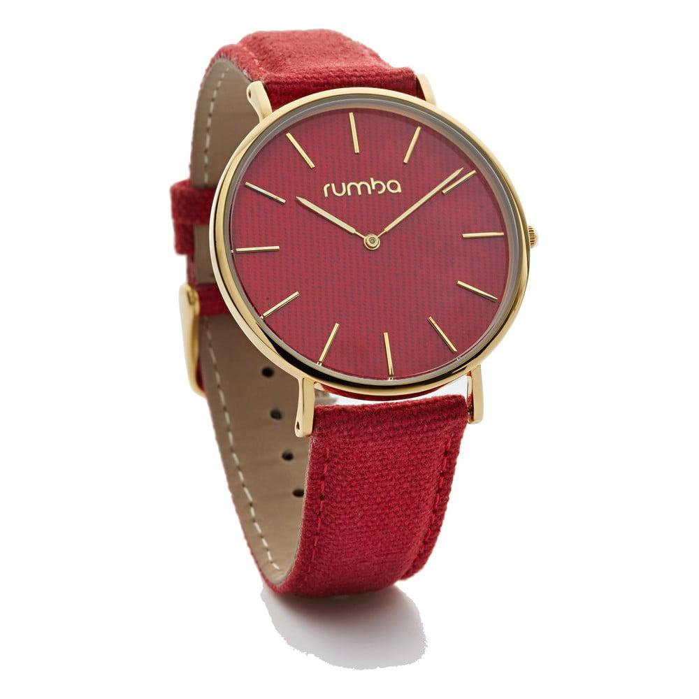 7bd92cb76 Dámské červené hodinky Rumbatime Soho Denim | Bonami