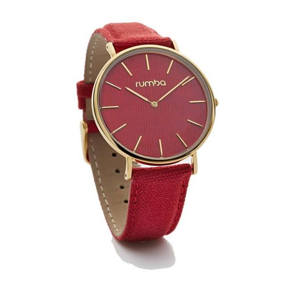 Dámské červené hodinky Rumbatime Soho Denim