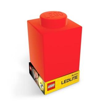 Lumină de veghe LEGO® Classic Brick, roșu imagine