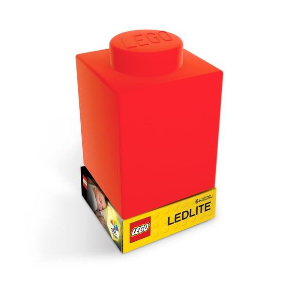 Classic Brick piros szilikon világító éjjeli lámpa - LEGO®