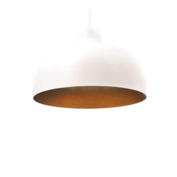 Bílo-zlaté stropní světlo Loft You B&B, 22 cm