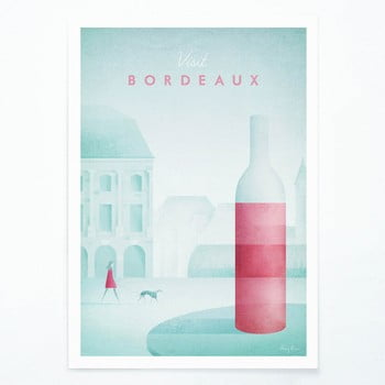 Poster Travelposter Bordeaux, A2 imagine