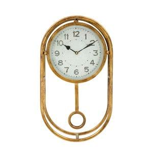 Nástěnné hodiny ve zlaté barvě Mauro Ferretti Muro