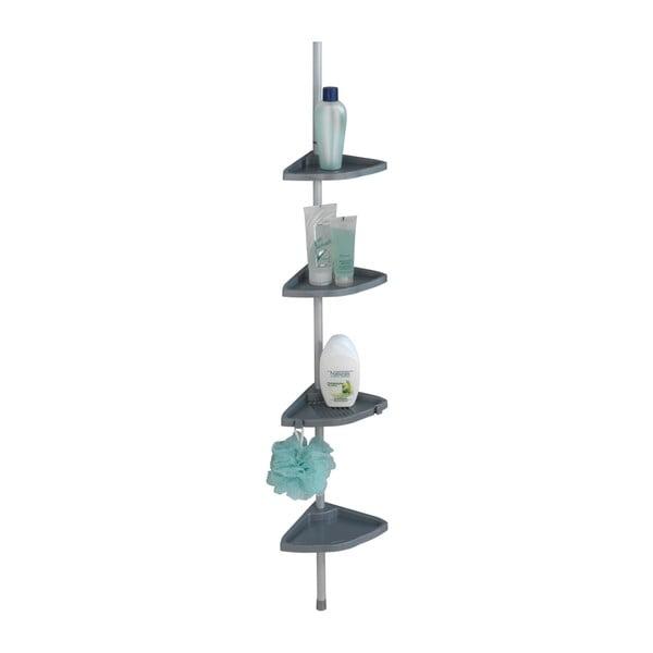 Raft telescopic de perete pentru baie Wenko Easy, gri