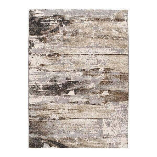 Šedobéžový koberec Universal Elke, 140x200cm