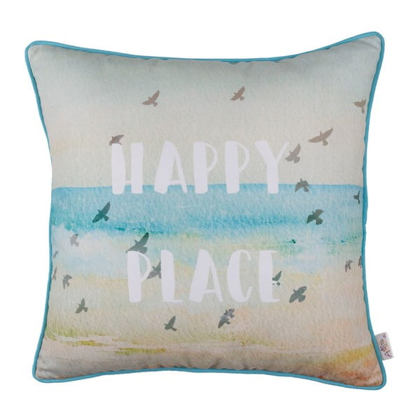 Povlak na polštář Apolena Happy Place, 43x43cm