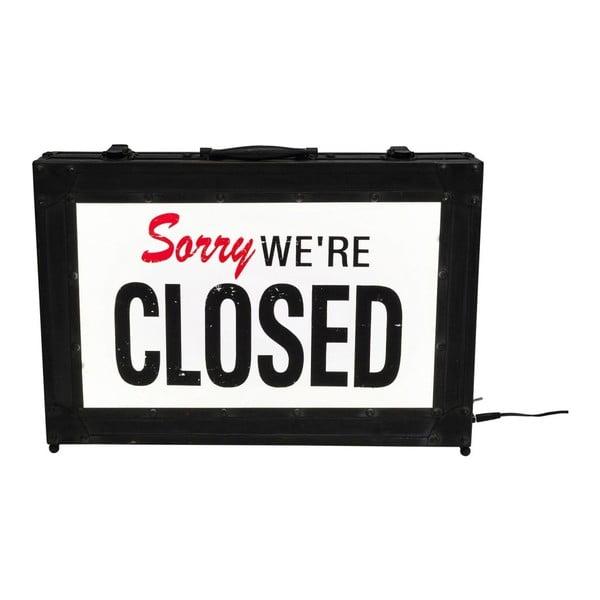 Stolní svítící dekorace Kare Design Closed