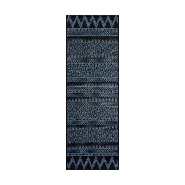 Sidon sötétkék kültéri szőnyeg, 70 x 200 cm - Bougari