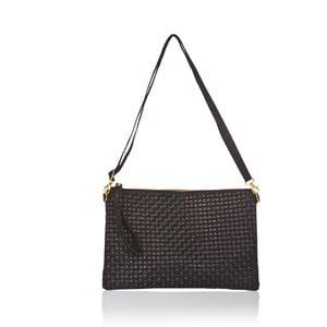Černá kožená kabelka Markese Hurton