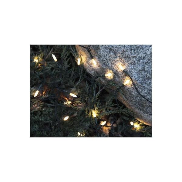 Venkovní svítící řetěz Best Season Warm White, 80 světýlek