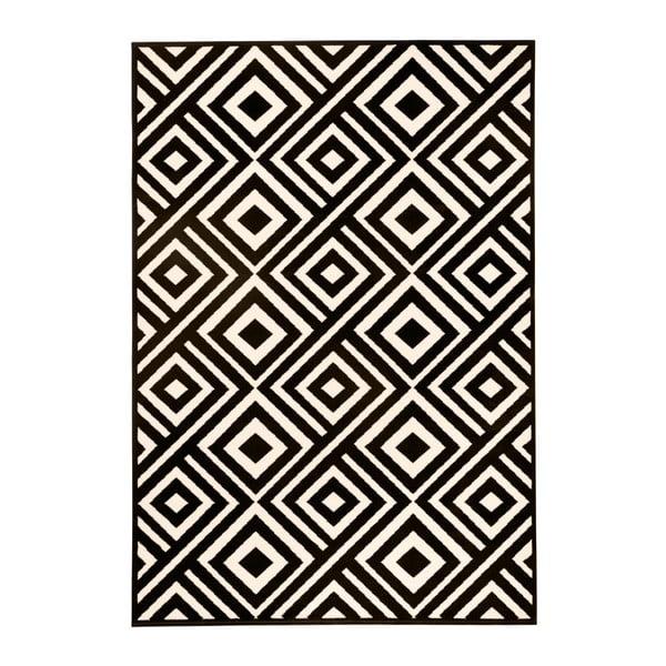 Covor Hanse Home Art, 140 x 200 cm, negru - bej