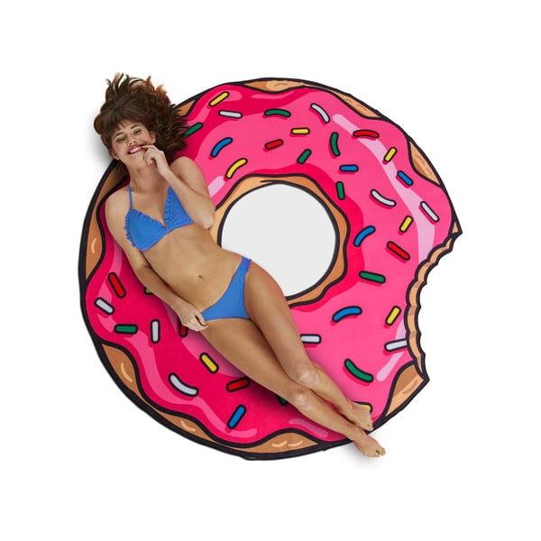 Koc plażowy w kształcie donuta Big Mouth Inc., ⌀ 152 cm