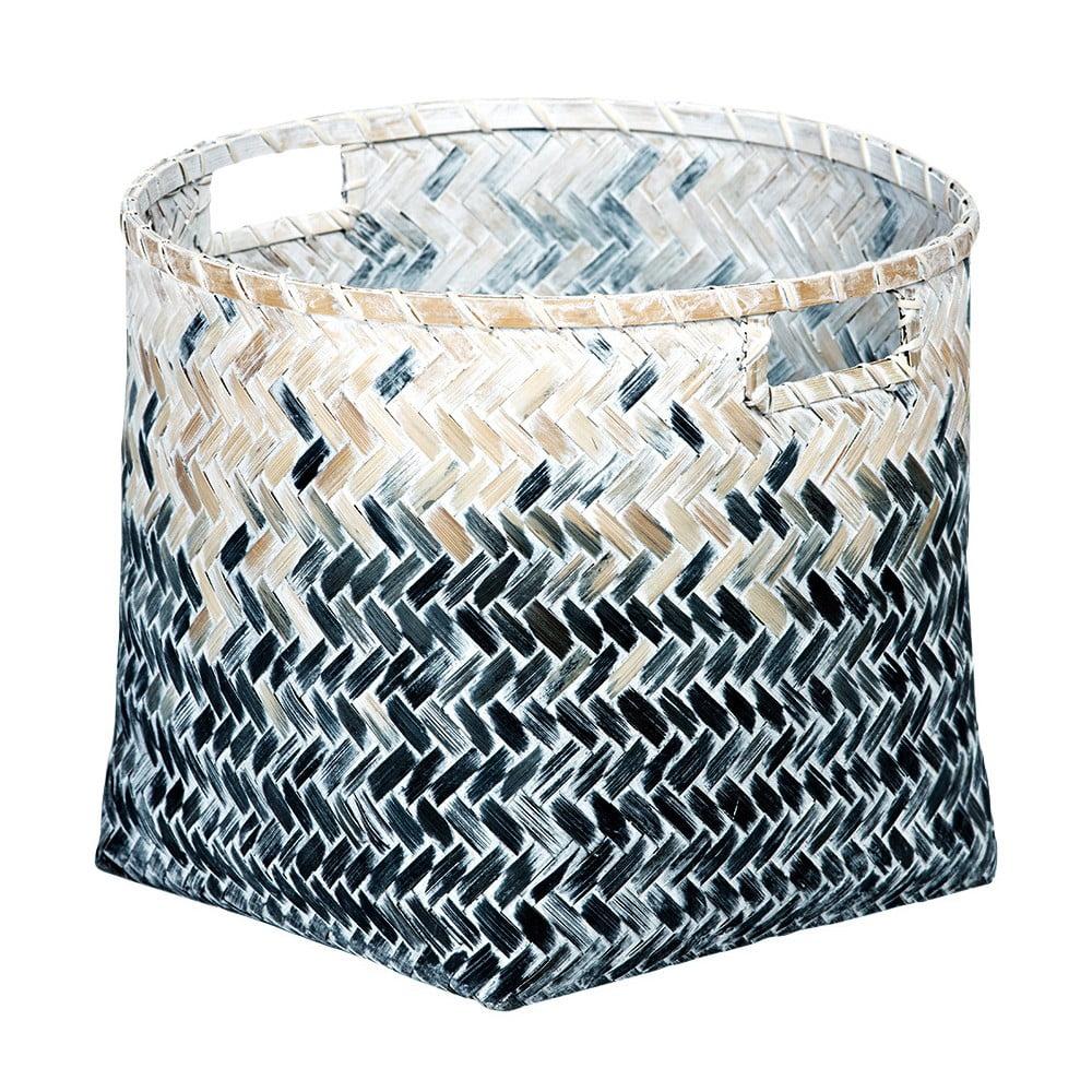 Bambusový košík a'miou home Graddual, ⌀ 28 cm