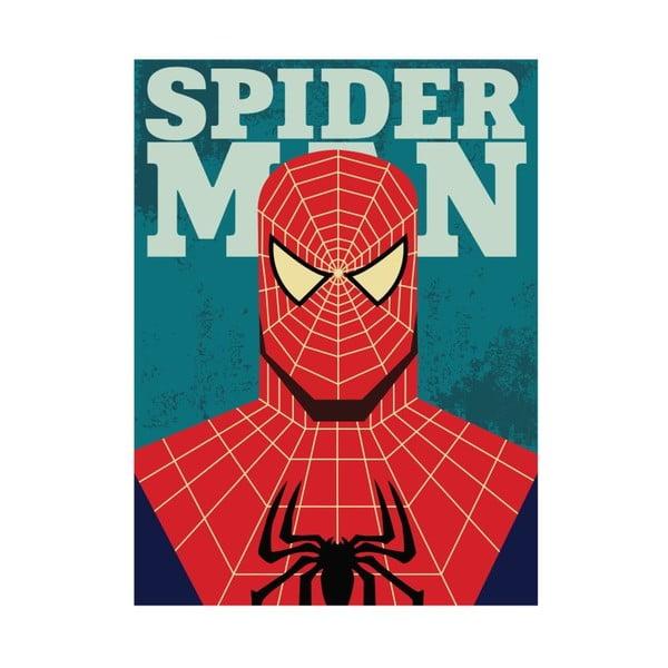 Super Heroes Spider Man poszter, 30 x 40 cm - Blue-Shaker