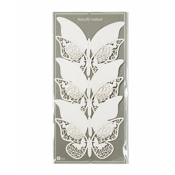 Papírová girlanda Butterfly, 2 m
