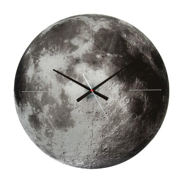 Nástěnné hodiny Karlsson Moon