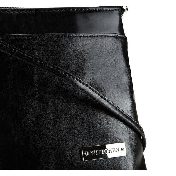 Kožená kabelka Elegance Cruiser Black
