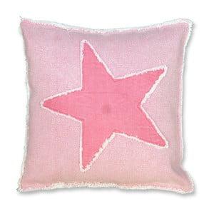Polštář Star 45x45 cm, růžový