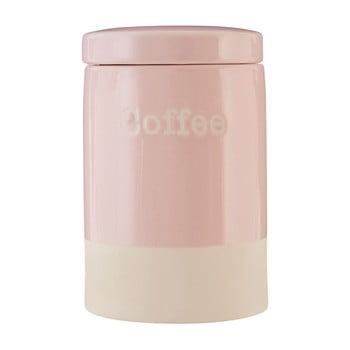 Recipient din ceramică pentru cafea Premier Housewares, 616 ml, roz imagine