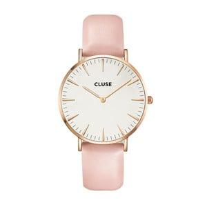 Hodinky Cluse La Bohéme Rose Gold/White Pink