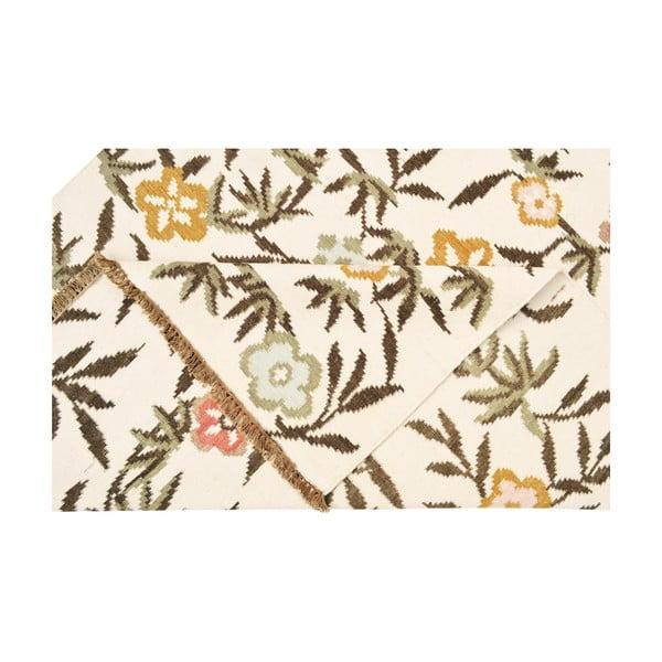 Vlněný koberec Kilim Flowers 176, 160x230 cm