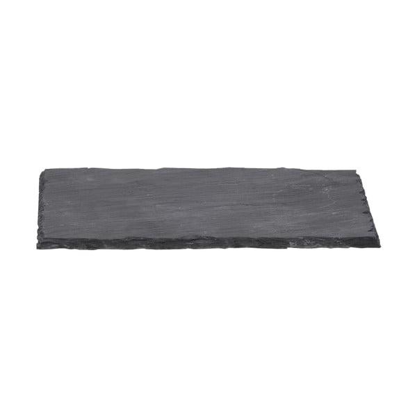 Břidlicový podnos Sola Flow, 33 x 18 cm